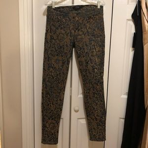 J Brand Skinny Leg High Waist Denim